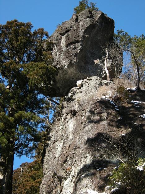 写真: 榛名神社・御姿岩