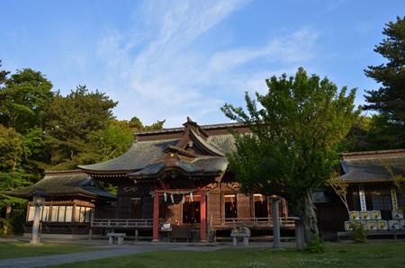 大洗磯前神社・拝殿