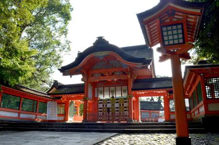 宇佐神宮-西大門