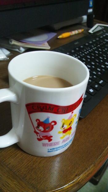 カフェイン足りない。
