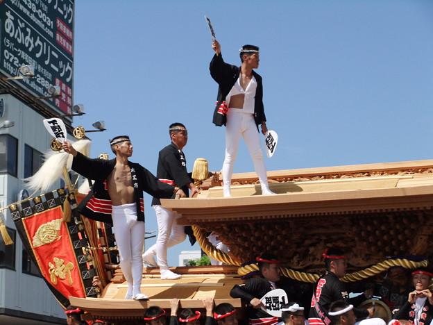 写真 岸和田だんじり祭り