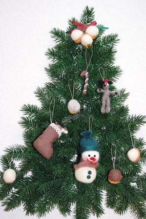 フェルト クリスマスオーナメント2012年11月21日_DSC_0564