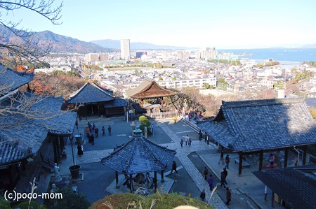 三井寺観音堂と琵琶湖2012年11月25日_DSC_0187