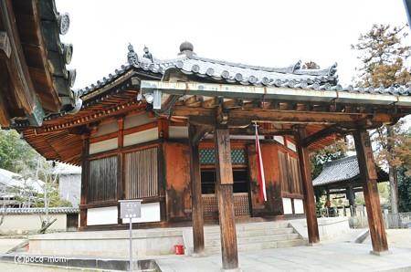 法隆寺西円堂2014年02月10日_DSC_0394