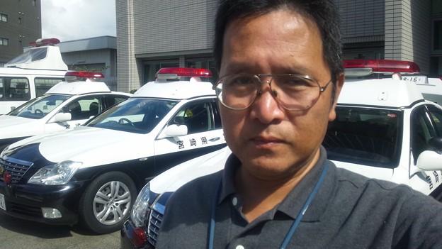 再び宮崎北警察署へ