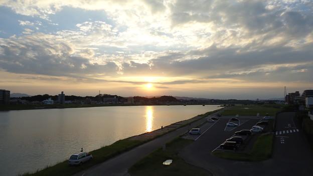 2012.10.2の夕日