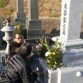 お正月墓参り3