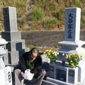 11月の墓参り2