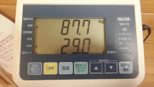 体重、減りませんん・・・