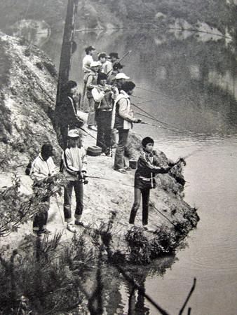 1980年釣り風景