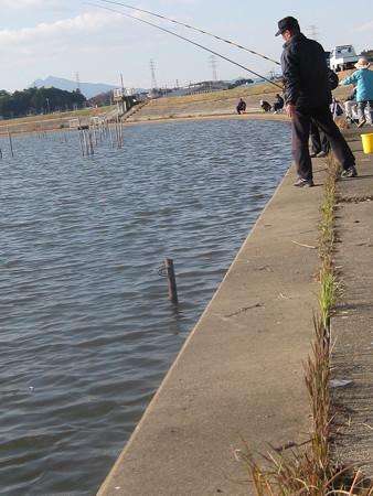 霞ヶ浦 高崎付近 ワカサギ釣り風景