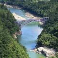 夏の第一只見川橋梁