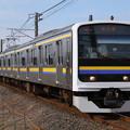 成田線 水郷-小見川 普通列車 209系
