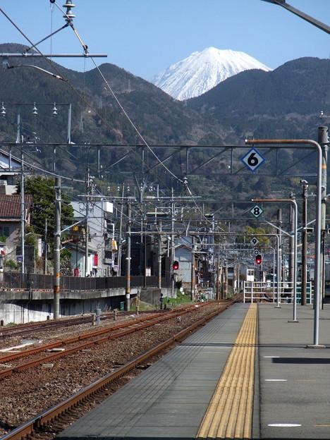 Photos: 由比駅ホームにて