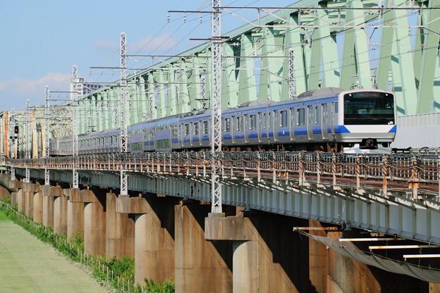 Photos: E531系&利根川橋梁