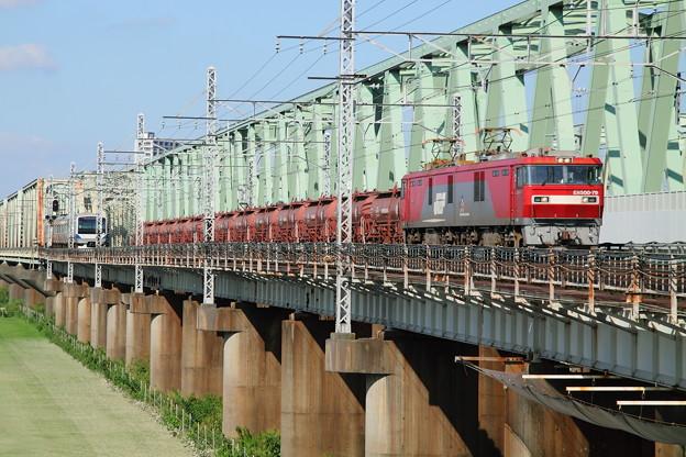 Photos: 安中貨物&利根川橋梁
