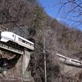 651系 in 樽沢トンネル