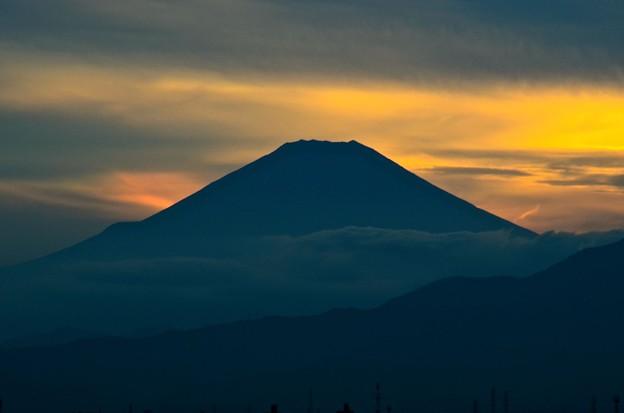 Photos: 横浜駅近辺から観た富士山