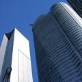 Photos: 青い街、六本木ヒルズ