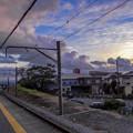 ダリの描いた空の様2@御殿場線岩波駅