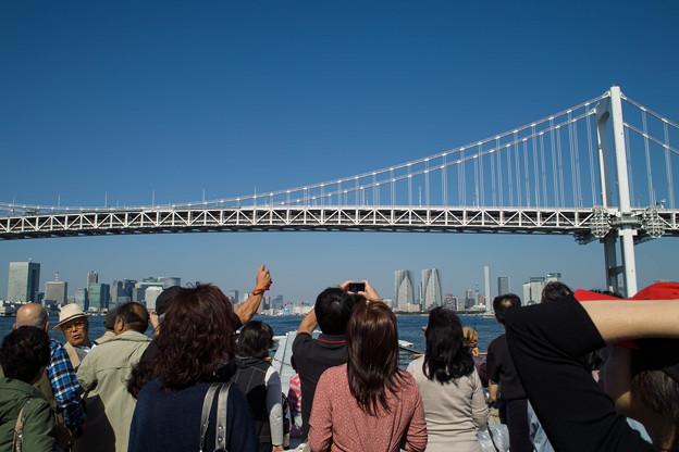 大人気@東京レインボウブリッジ