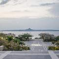 だれも居なくなった海洋博公園と伊江島