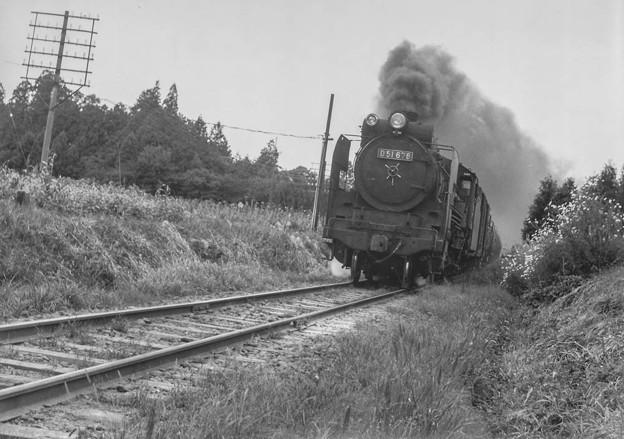 写真: D51が来る!@昭和40年代初頭の八高線