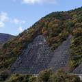 Photos: 溶けそうな板チョコが山の斜面に(爆)