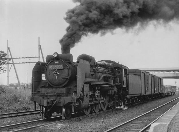 Photos: C58 293 昭和40年代初頭の勇姿