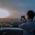 Photos: 超新星爆発を撮る人(爆)
