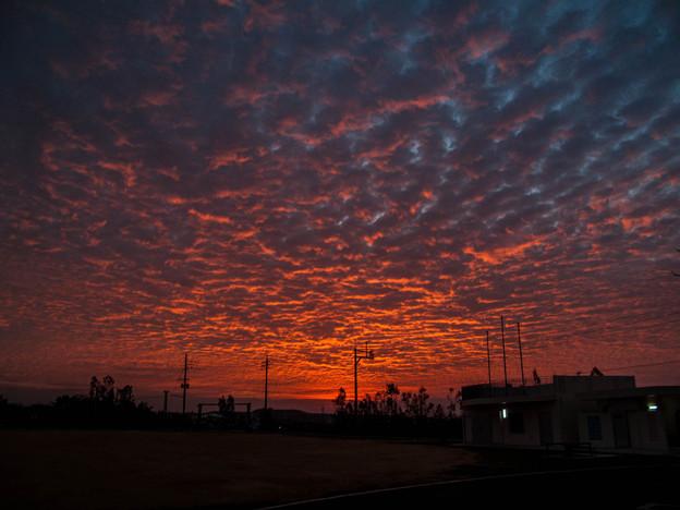 沖縄の朝焼け4@CANON-PowerShotG10