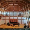 Photos: Pianoのツーショット@真鶴の吉祥院の檜チャリティーホール