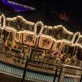 Photos: There was nobody on the carousel in the night