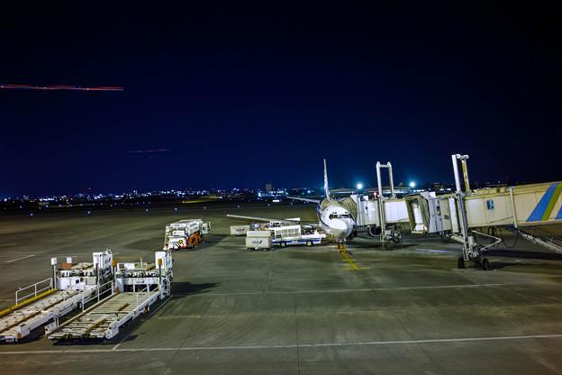 夜の宮崎空港