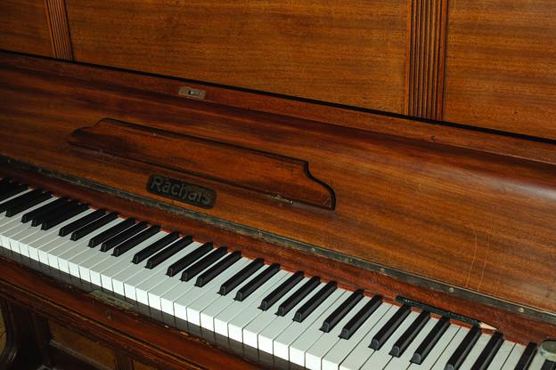 Photos: 私の楽器@1920年代前半製だと思われるハンブルグ製ピアノ