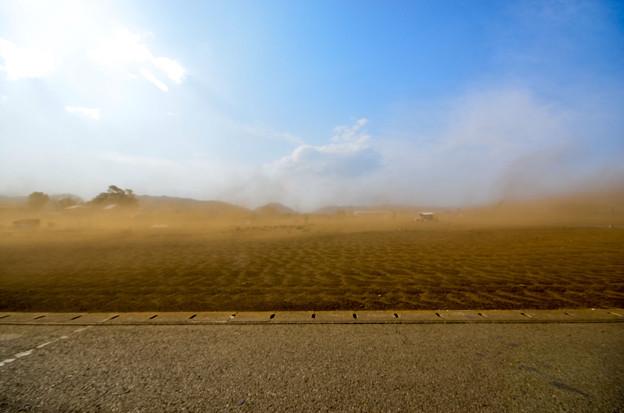 Photos: 南米の砂嵐