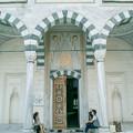 モスクの礼拝堂の入口
