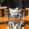 左手揚げ招き猫6@千葉県船橋市