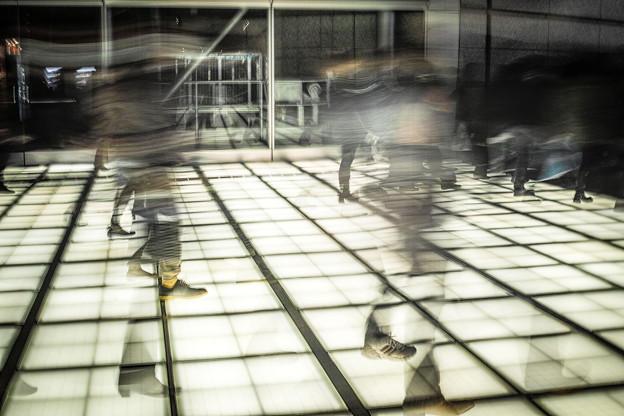 透明人間のダンスパーティー(爆)