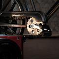 自転車のミニチュア@カメラと一緒に2