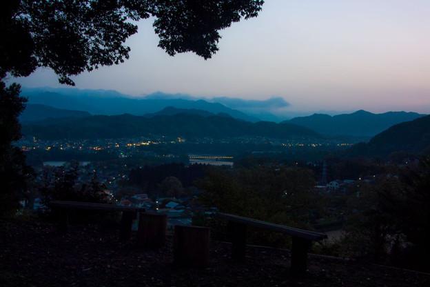 Photos: 黄昏の相模原北部