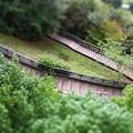 ヘアピン階段