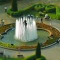 横浜山下公園の噴水