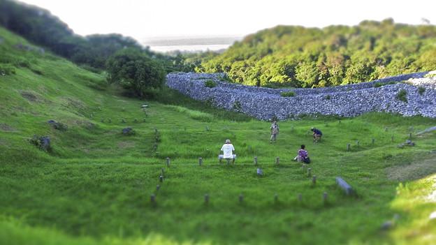 Photos: 沖縄の今帰仁城跡diorama