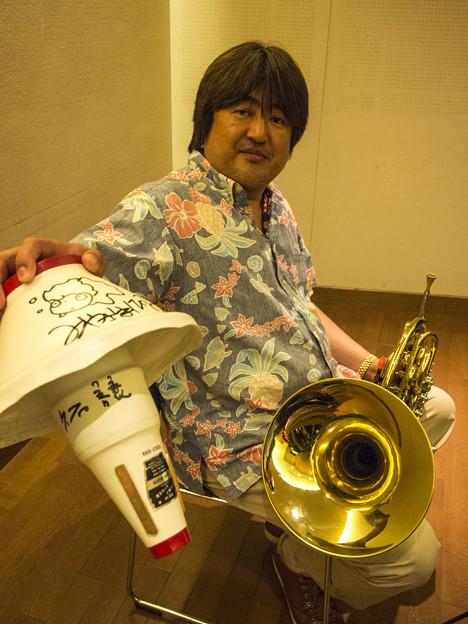 Hornのカップ・ミュート初めて見ました1