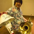 Photos: Hornのカップ・ミュート初めて見ました1