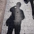 Photos: 影の薄い男