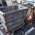 三輪車の奇想天外な荷台