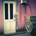 扉とリアカー