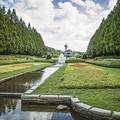 噴水,欧風庭園2@神奈川県立相模原公園にて